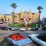 Vue depuis la place du Casino de Monte Carlo