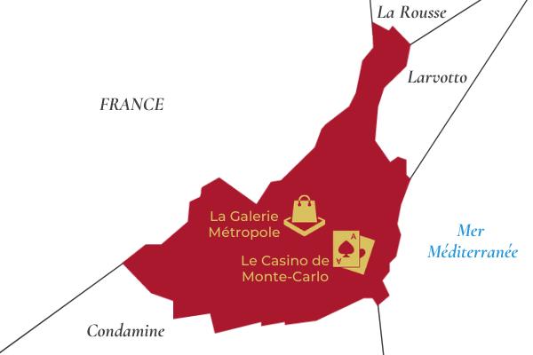 Lieux incontournables du quartier de Monte-Carlo