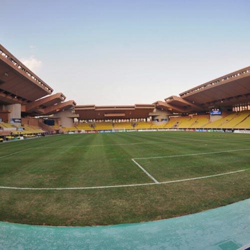 Louis ii Stadium lawn in Fontvieille