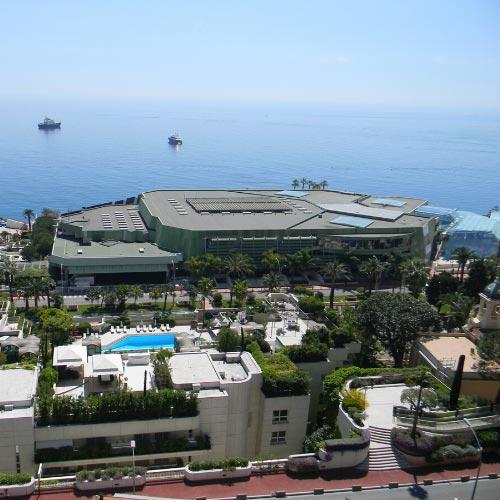 The Grimaldi Forum of Monaco in Larvotto