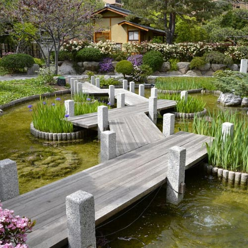 Garden in the Larvotto district