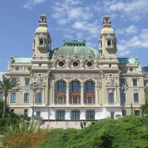 Façade de l'Opera de Monte-Carlo