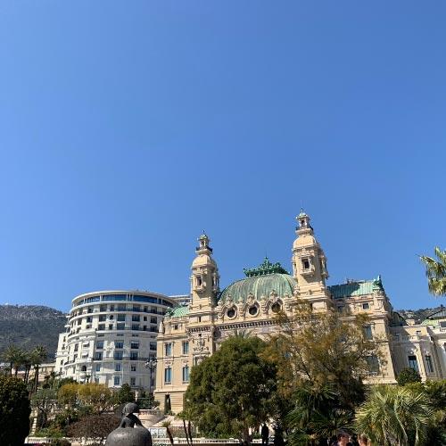 Vue de l'Opera de Monte-Carlo